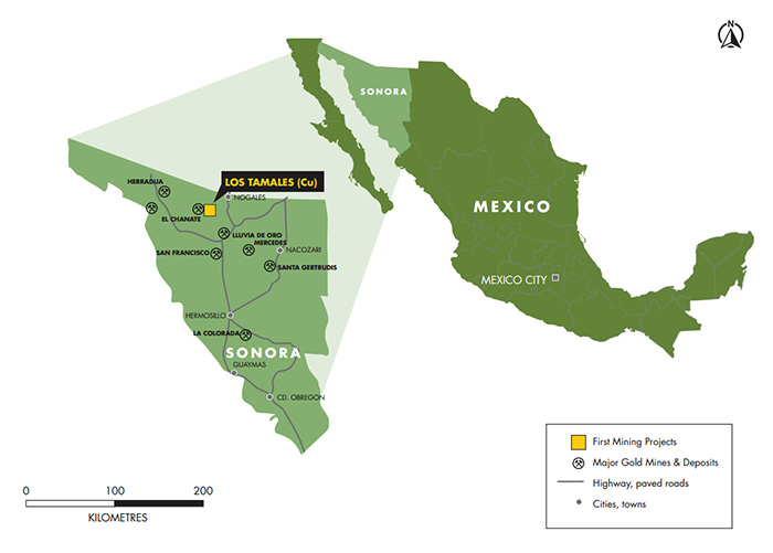 Los Tamales Project Map